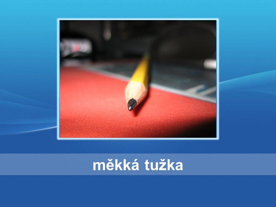 měkká tužka