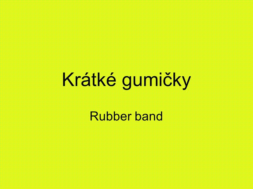 Krátké gumičky Rubber band