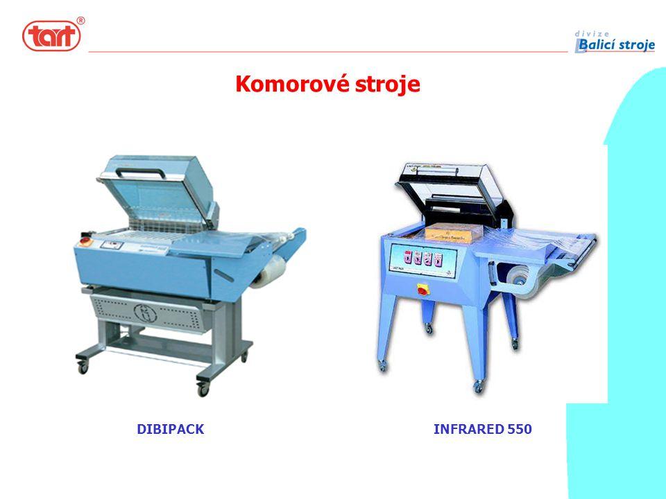 DIBIPACK Komorové stroje INFRARED 550