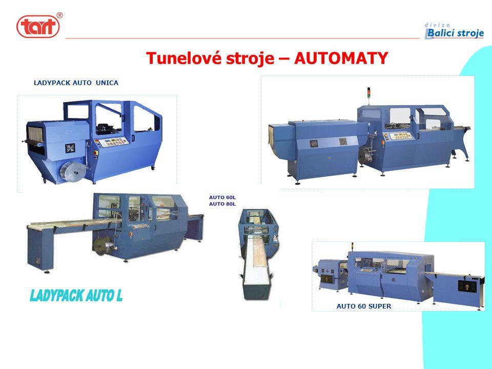 Tunelové stroje – AUTOMATY AUTO 60 SUPER LADYPACK AUTO UNICA