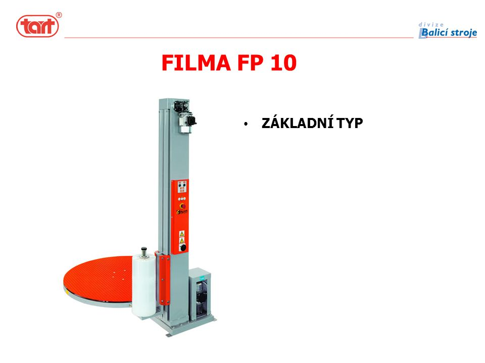 FILMA FP 10 ZÁKLADNÍ TYP