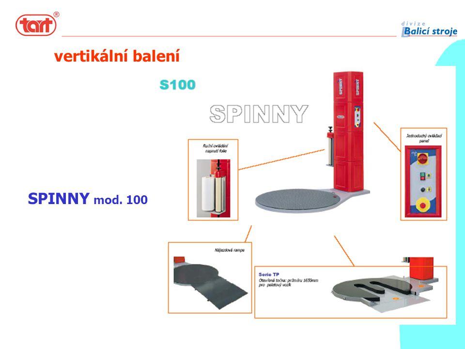 SPINNY mod. 100 vertikální balení