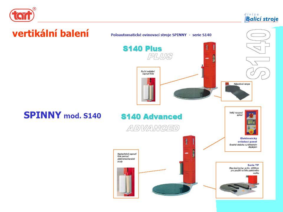 SPINNY mod. S140 vertikální balení