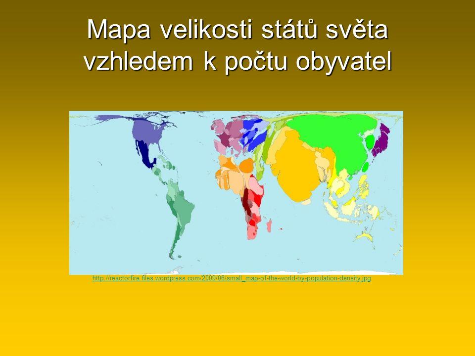http://reactorfire.files.wordpress.com/2009/06/small_map-of-the-world-by-population-density.jpg Mapa velikosti států světa vzhledem k počtu obyvatel