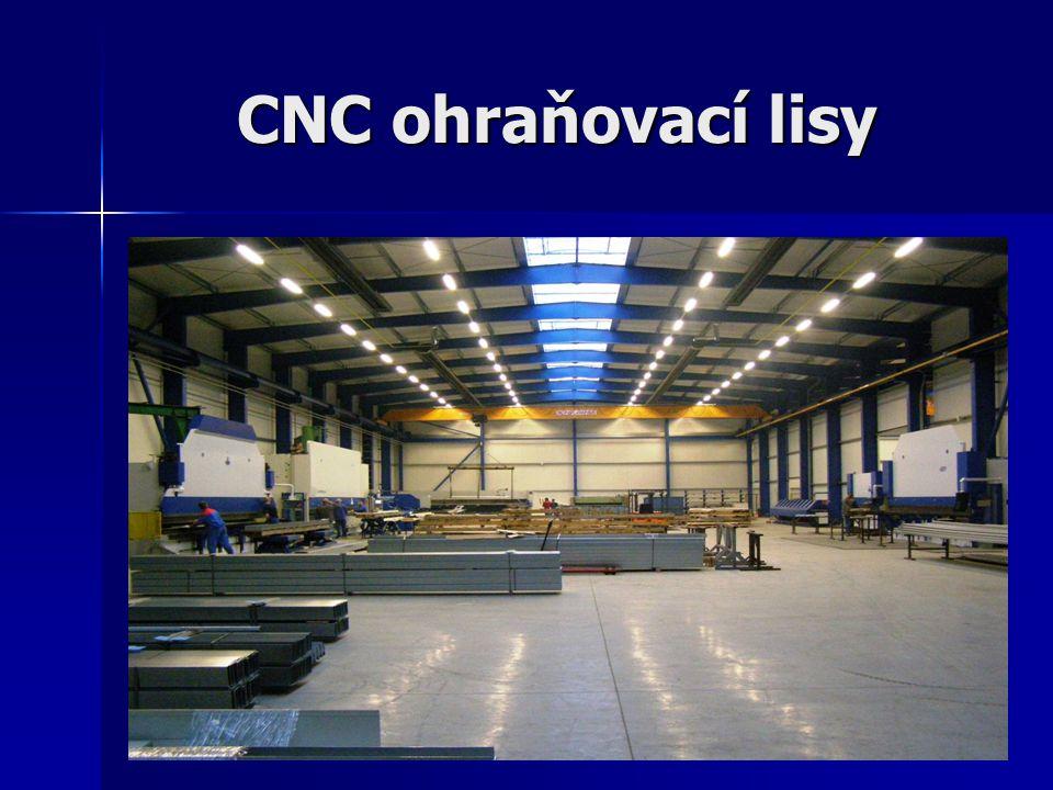 CNC vysekávací a děrovací centrum BOSCHERT Doplňkové operace k hraněným profilům (kazety, děrované plechy, odvětrávací profily).