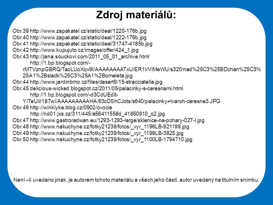 Střední škola Oselce Zdroj materiálů: Obr.39 http://www.zapakatel.cz/static/deal/1220-176b.jpg Obr.40 http://www.zapakatel.cz/static/deal/1222-176b.jp