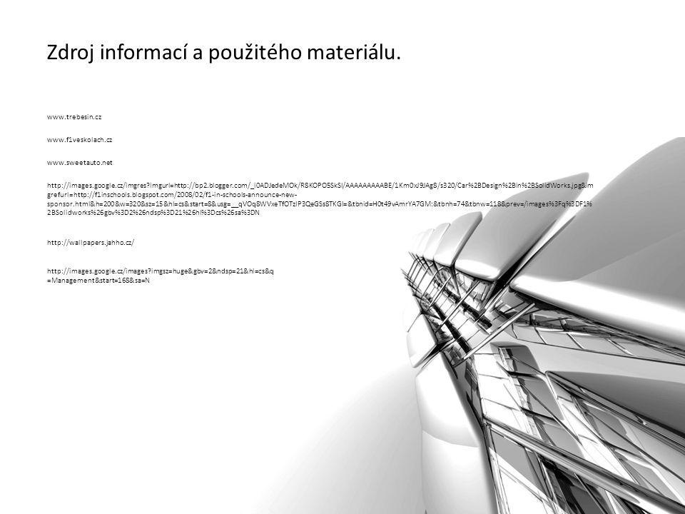 Zdroj informací a použitého materiálu.