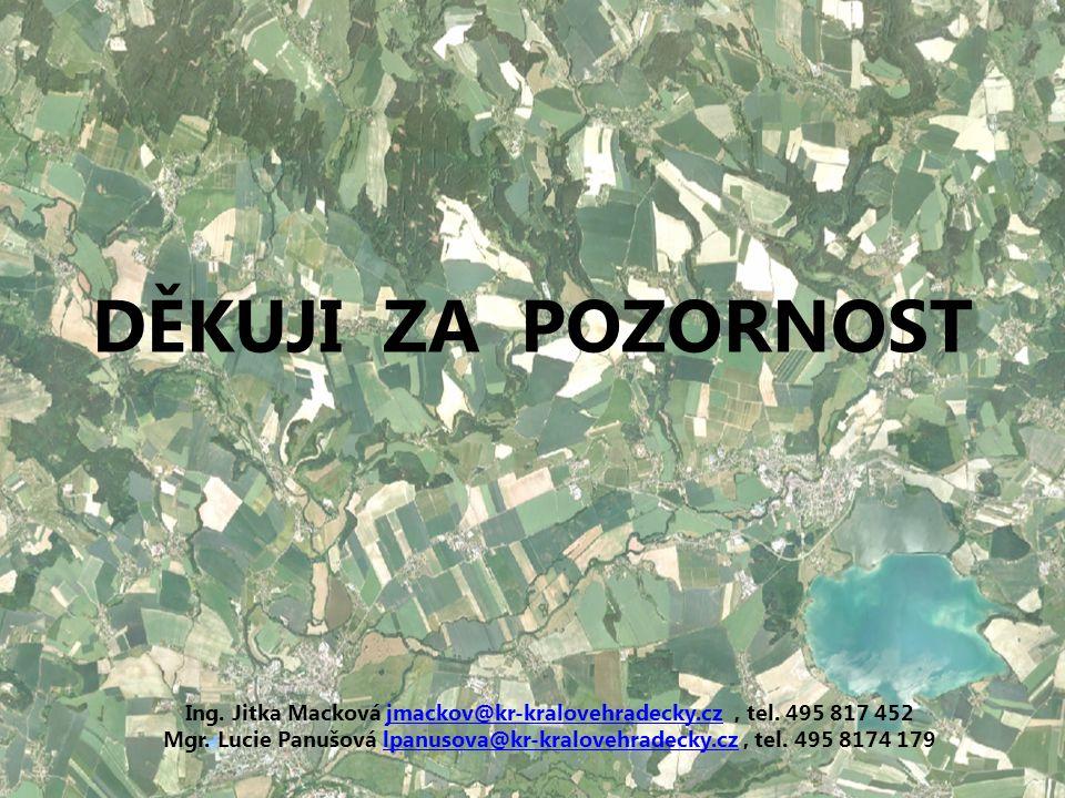 DĚKUJI ZA POZORNOST Ing. Jitka Macková jmackov@kr-kralovehradecky.cz, tel.