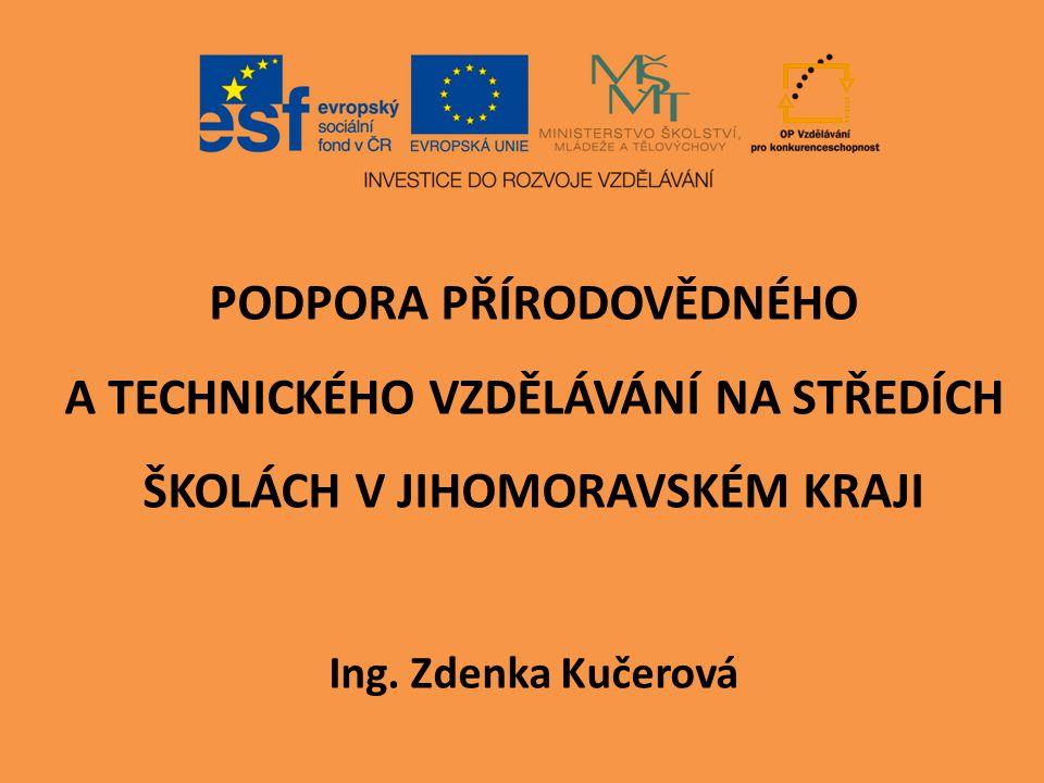 Směrem k maturitní zkoušce Projekt OP VK MŠMT EU peníze školám EU peníze středním školám CZ.1.07/1.5.00/34.0926
