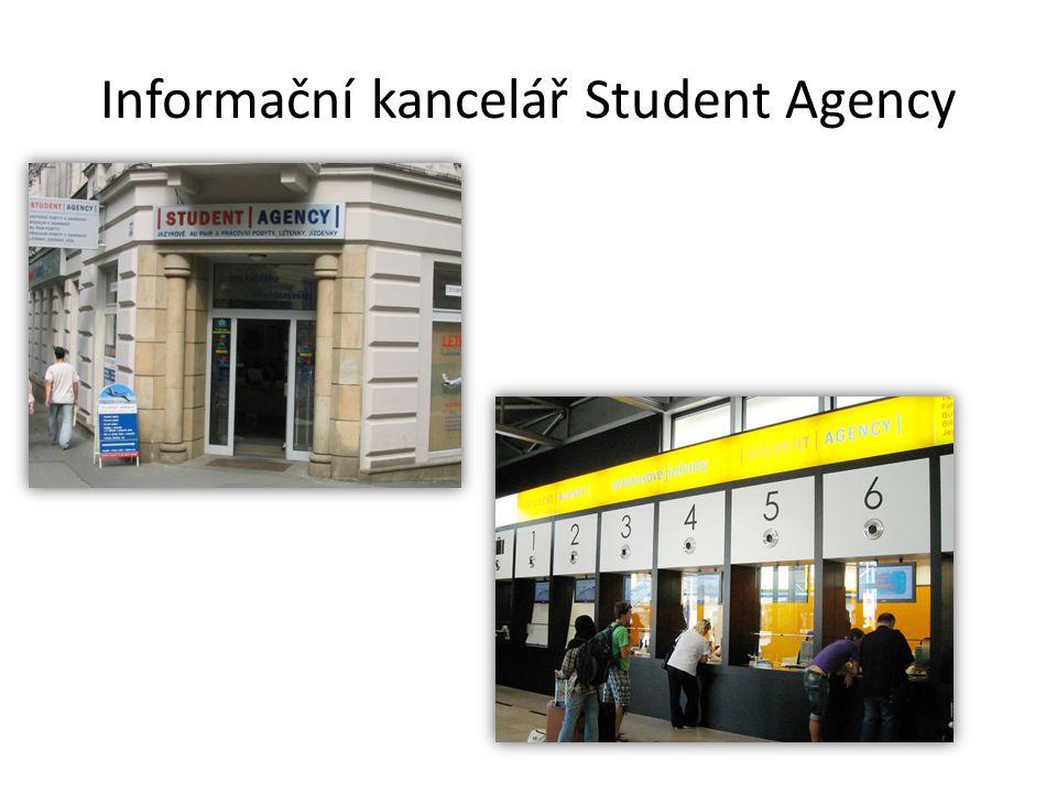 Informační kancelář Student Agency