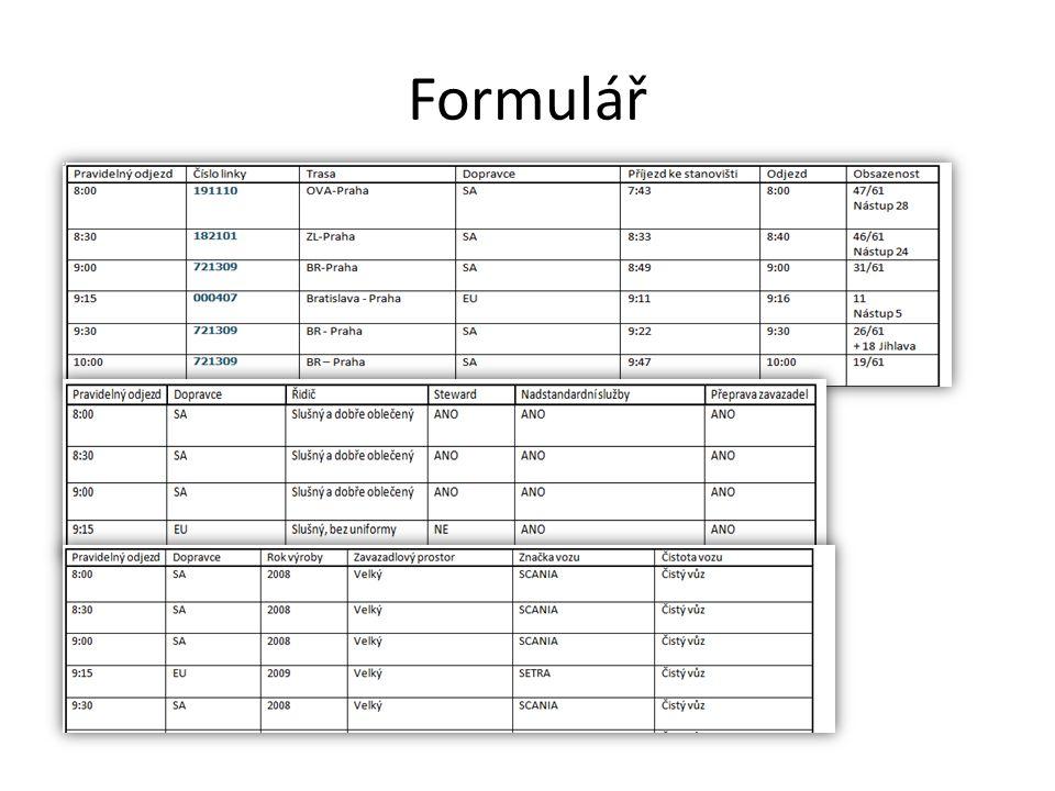 Formulář