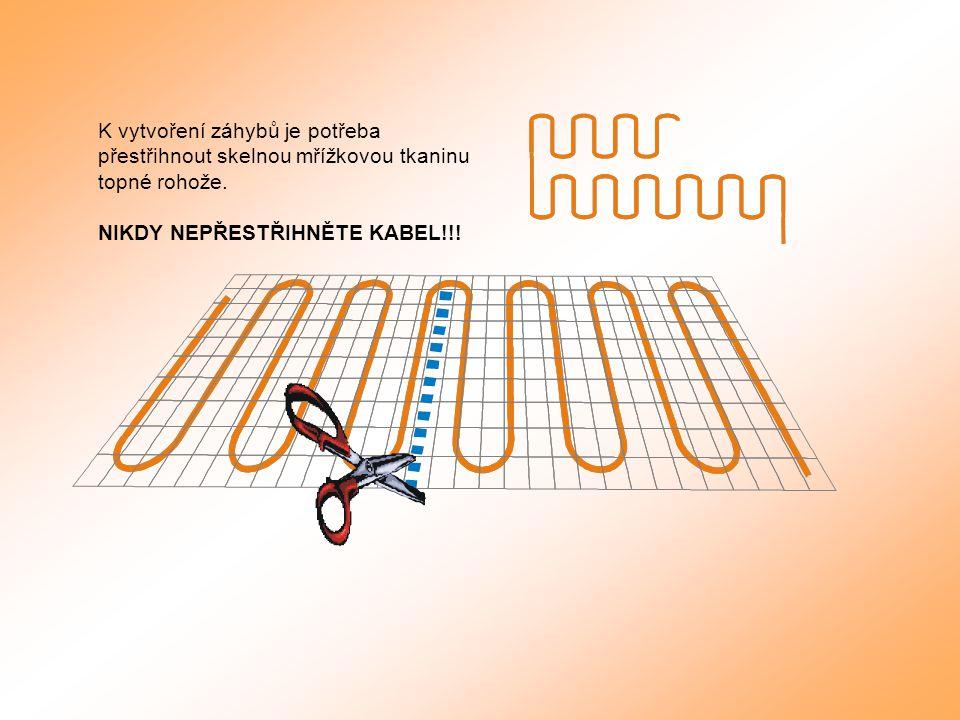 Topná rohož LDTS ECOFLOOR ComfortMat