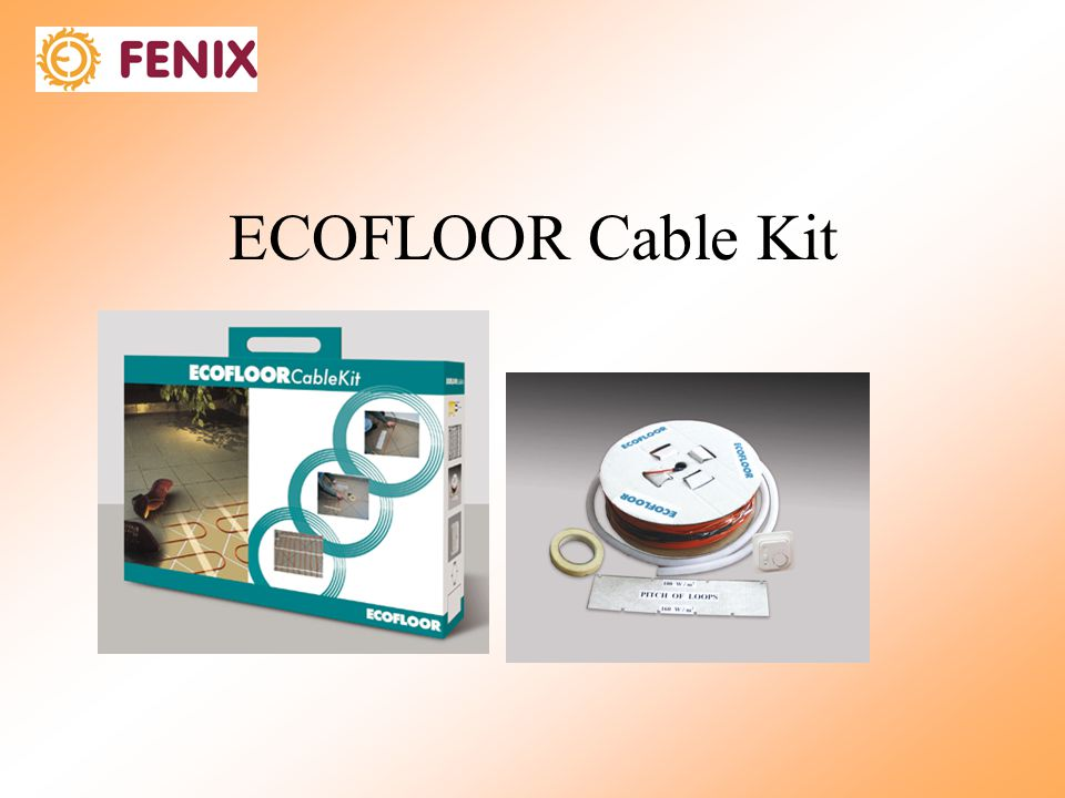 ECOFLOOR Cable Kit