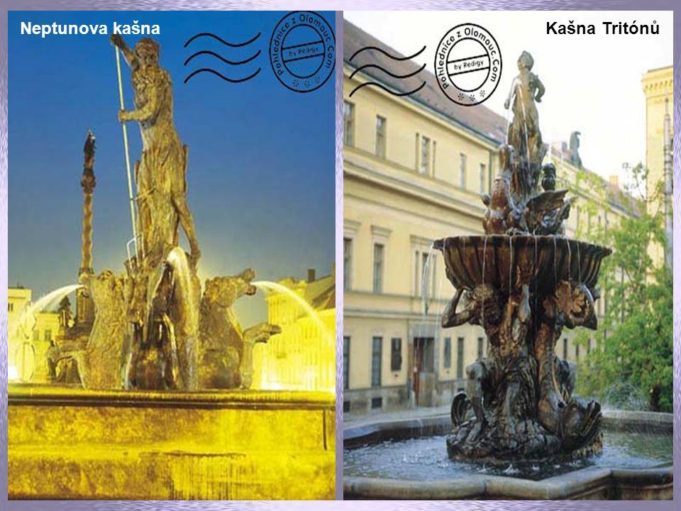Horní náměstí - radnice Kostel sv. Václava