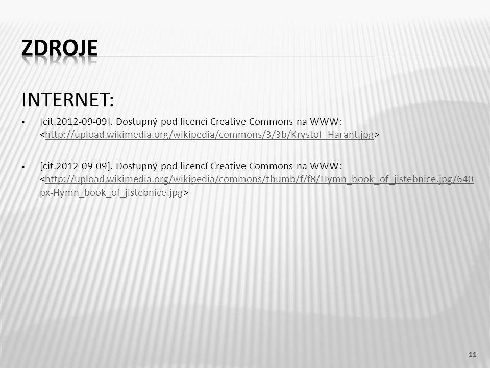 INTERNET:  [cit.2012-09-09]. Dostupný pod licencí Creative Commons na WWW: http://upload.wikimedia.org/wikipedia/commons/3/3b/Krystof_Harant.jpg  [c