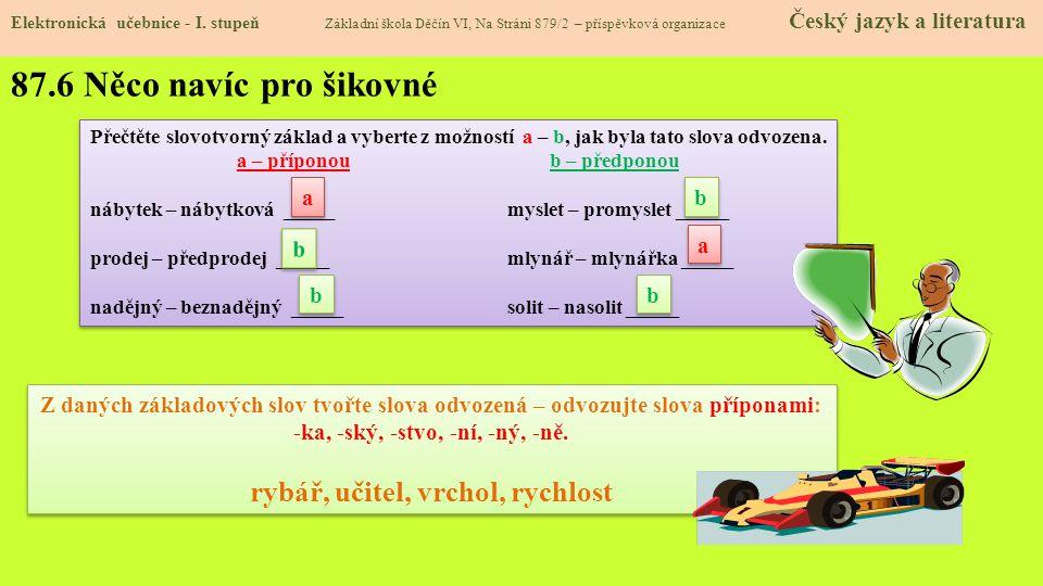 87.7 CLIL Elektronická učebnice - I.