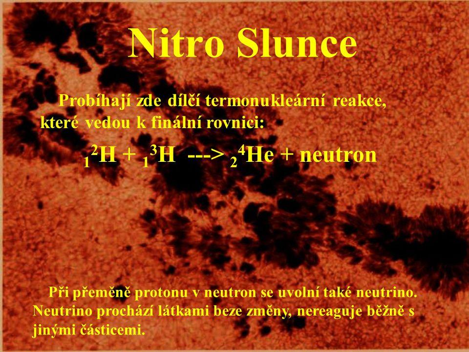 Naše nejbližší hvězda Slunce je obrovská rotující plynová koule (složená z 70 % vodíku a 28 % hélia), v jejímž nitru probíhají termonukleární reakce (