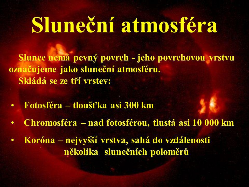Dynamový jev Dynamový jev nastává vlivem otáčení Slunce (perioda je 28 dní) a vlivem elektrické vodivosti proudící plazmy. Dynamový jev přeměňuje část