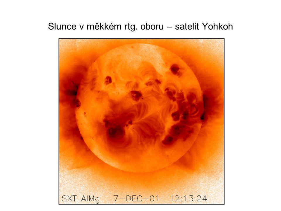Slunce v měkkém rtg. oboru – satelit Yohkoh