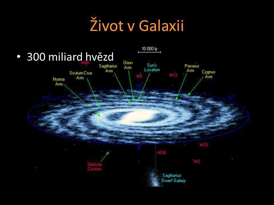 Život v Galaxii 300 miliard hvězd