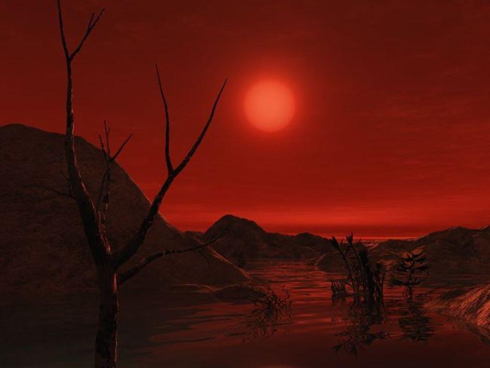 Červení trpaslíci Asi 75% všech hvězd, 0,08 – 0,6 M S Dlouhověcí (desítky až stovky miliard let) Mají planety – složení??? Červené světlo a fotosyntéz