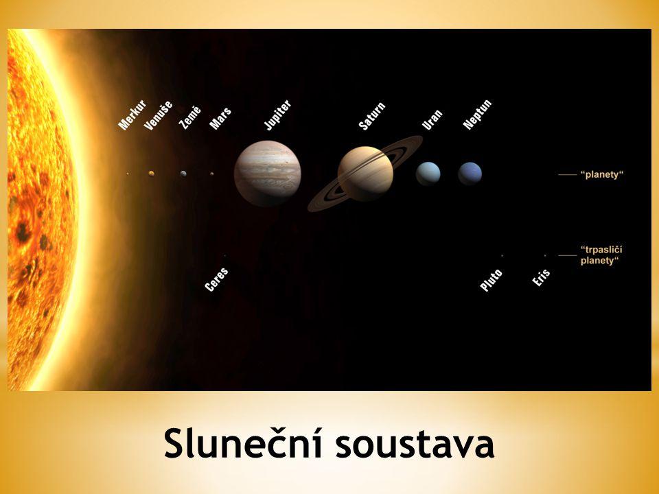 * Merkur nejvnitřnější planeta.* Je menší než polovina Země.