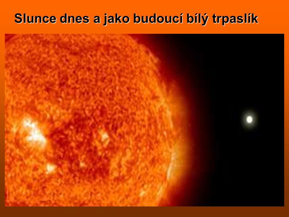 Vývoj hvězd v závislosti na jejich hmotnosti