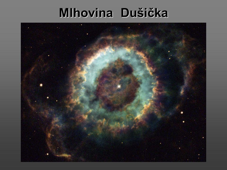Po odmrštění horních vrstev hmoty se vytvoří kolem Slunce krásná planetární mlhovina. Dnes je jich známo mnoho