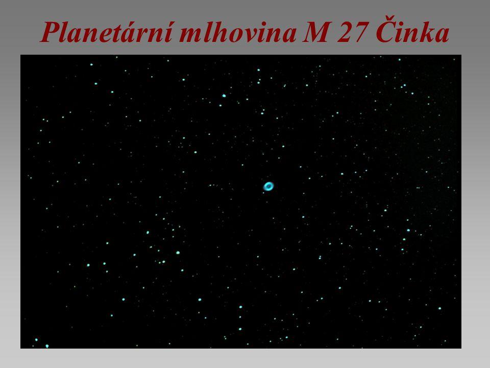 Mlhovina Rejnok je nově tvořící se planetární mlhovina