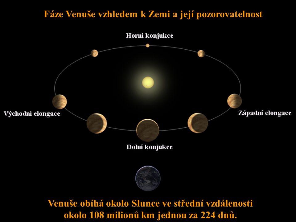 Krátery na Venuši Otázka:Jaká teplota je na povrchu Venuše? Teplota se pohybuje kolem 460°C.