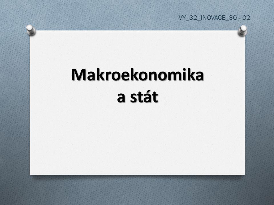 Makroekonomika a stát VY_32_INOVACE_30 - 02