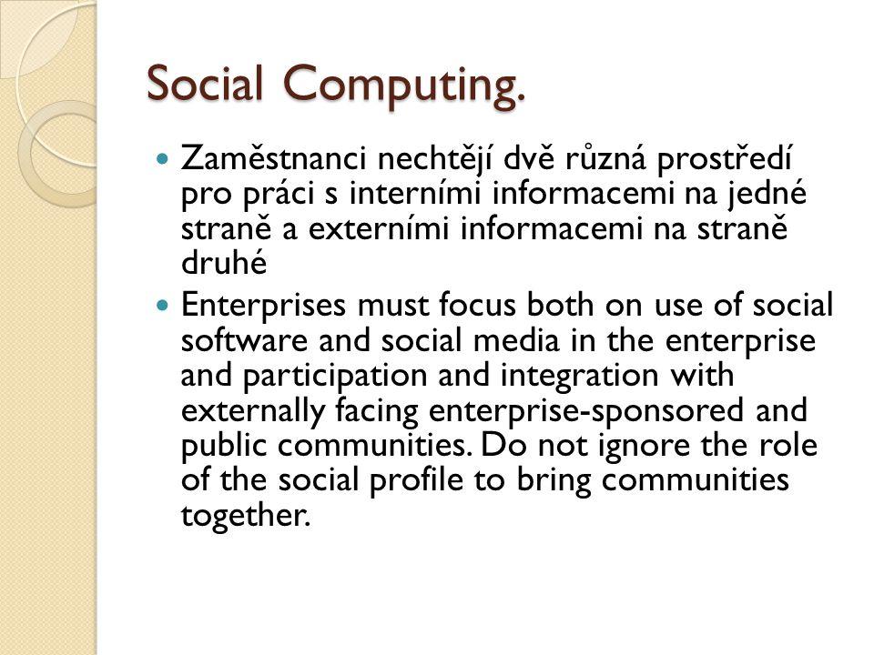 Social Computing.