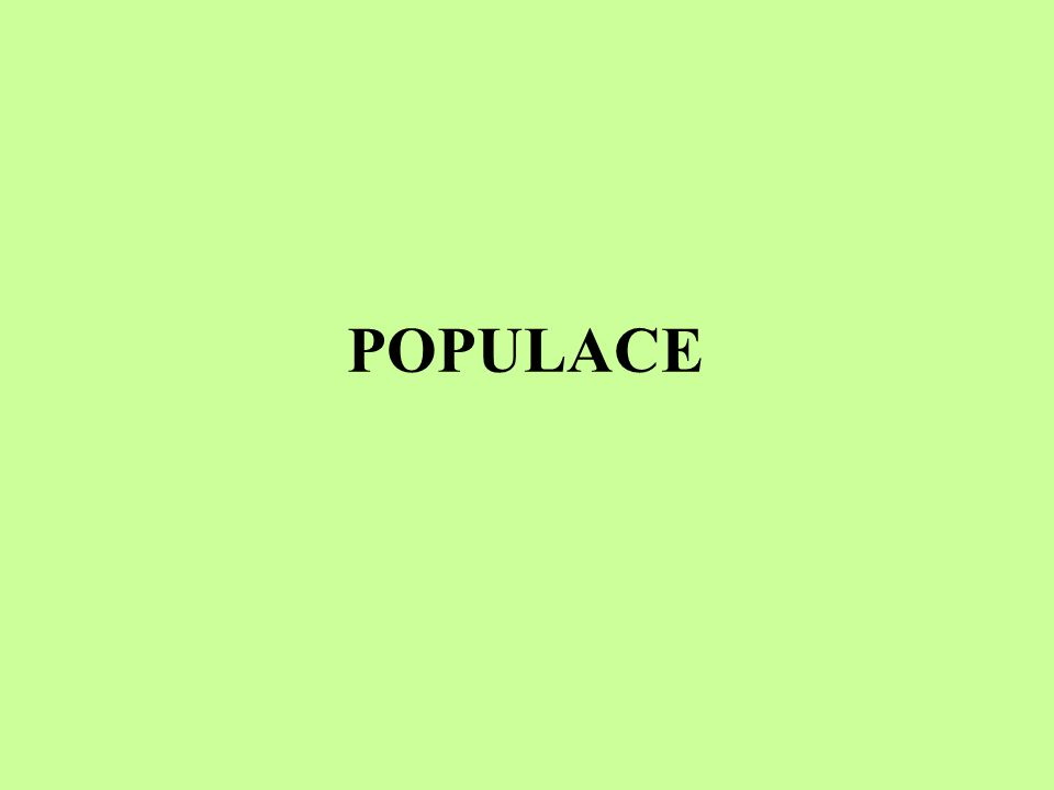 Rozmístění (rozptyl) populace organismy v rámci populace bývají v krajině rozmístěny zpravidla nenáhodně, nerovnoměrně rozptyl populace závisí na potřebě životního prostoru, na potravě, na sociální struktuře populace...