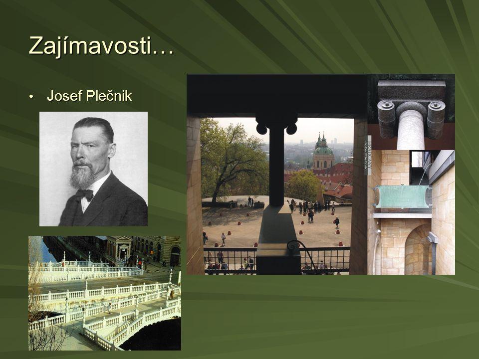 Zajímavosti… Josef Plečnik Josef Plečnik