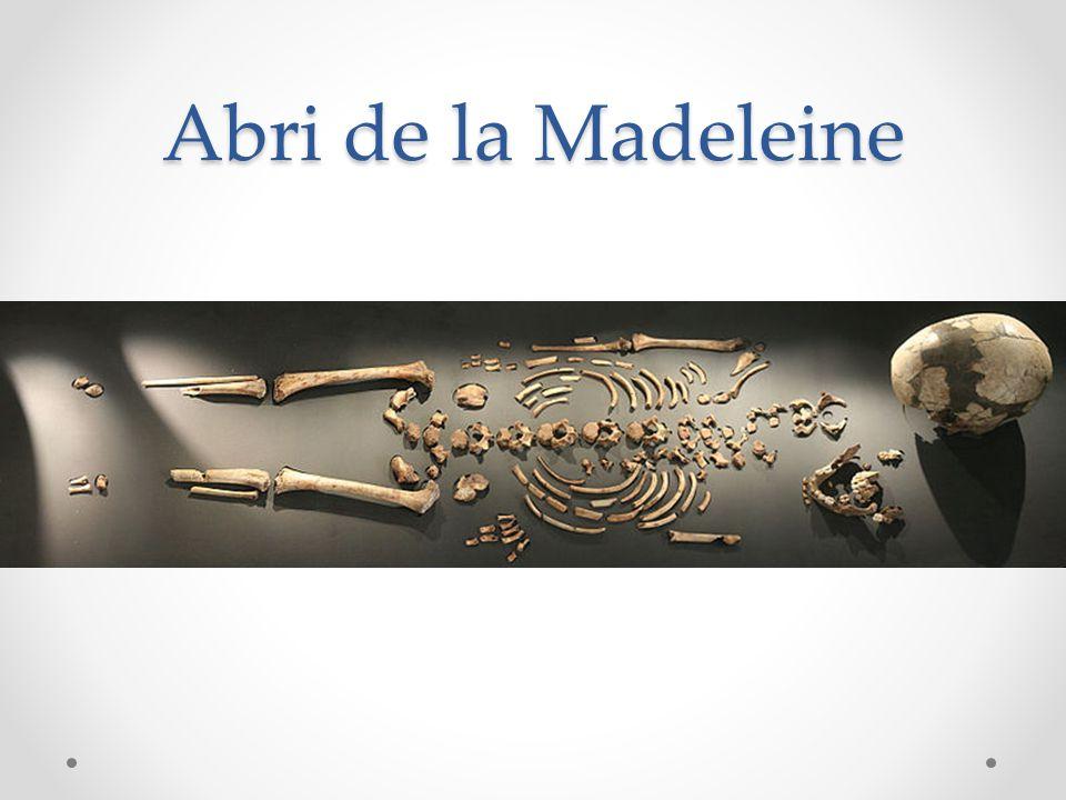 Abri de la Madeleine