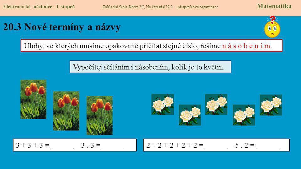 20.4 Co si řekneme nového.Elektronická učebnice - I.