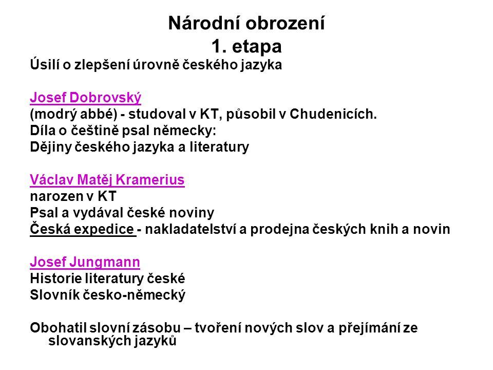 Národní obrození 1.