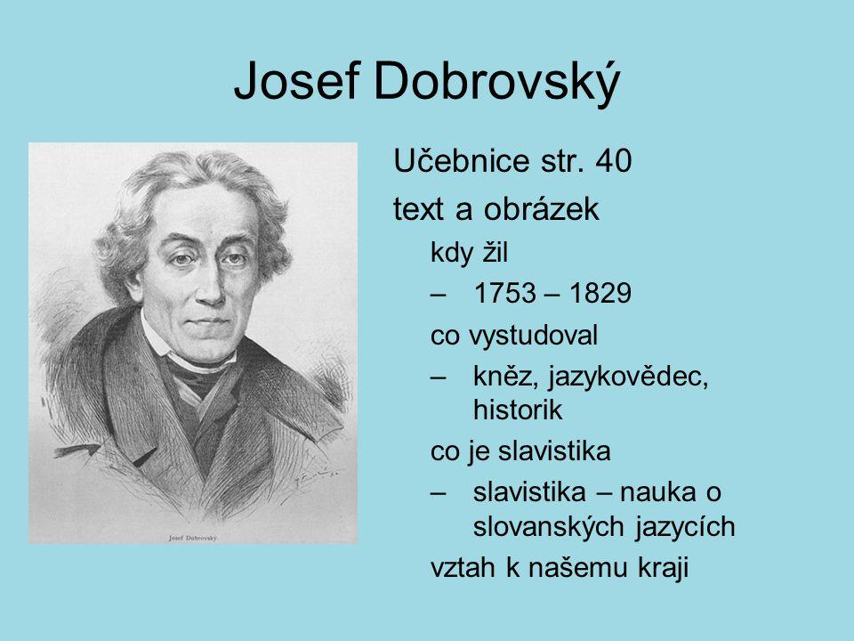 Josef Dobrovský Učebnice str.