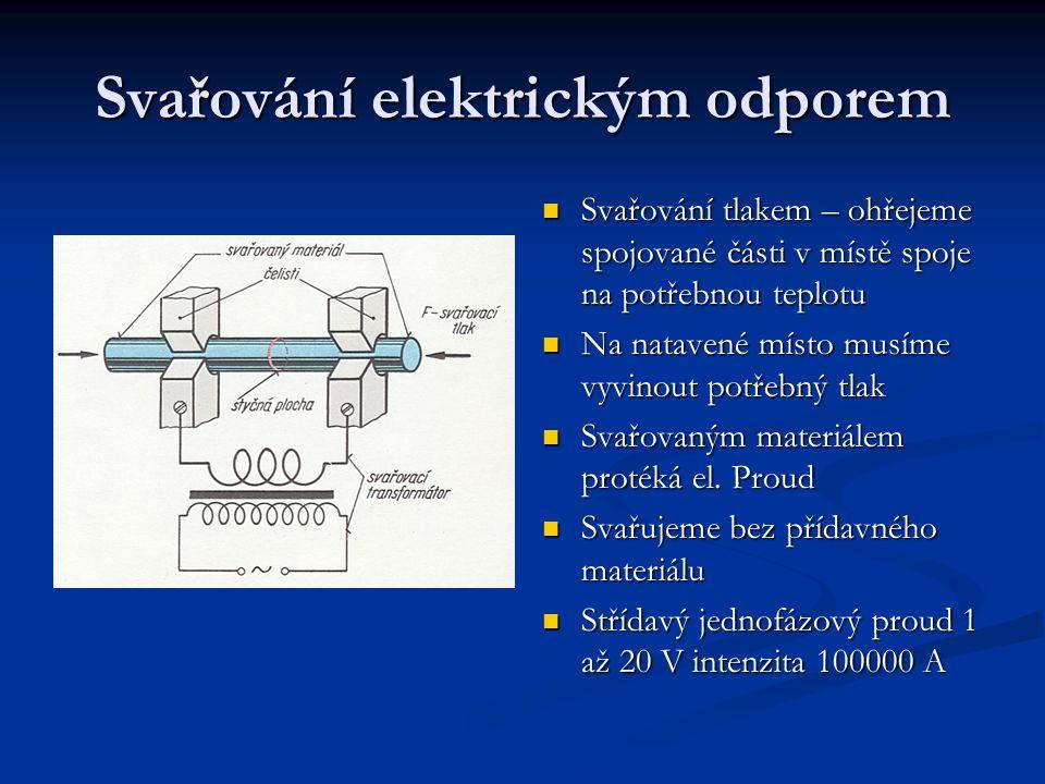 Svařování elektrickým odporem
