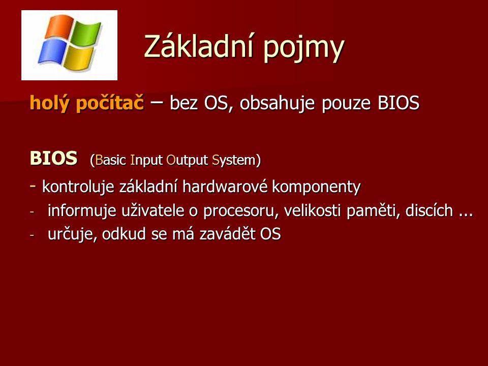 Správa I/O zařízení tiskárny, kreslící zařízení, pevné disky, diskety...