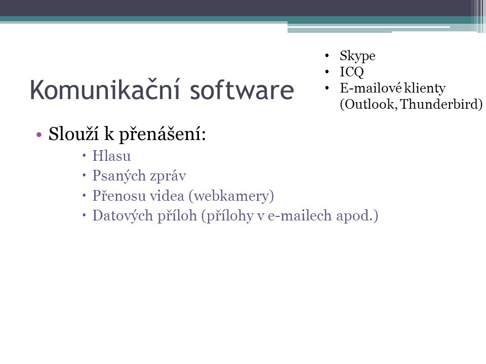 Kancelářský software Tvorba a úprava:  Textových dokumentů (word)  Tabulek (excel)  Prezentací (powerpoint) MS Word MS Excel MS Powerpoint Balík OpenOffice