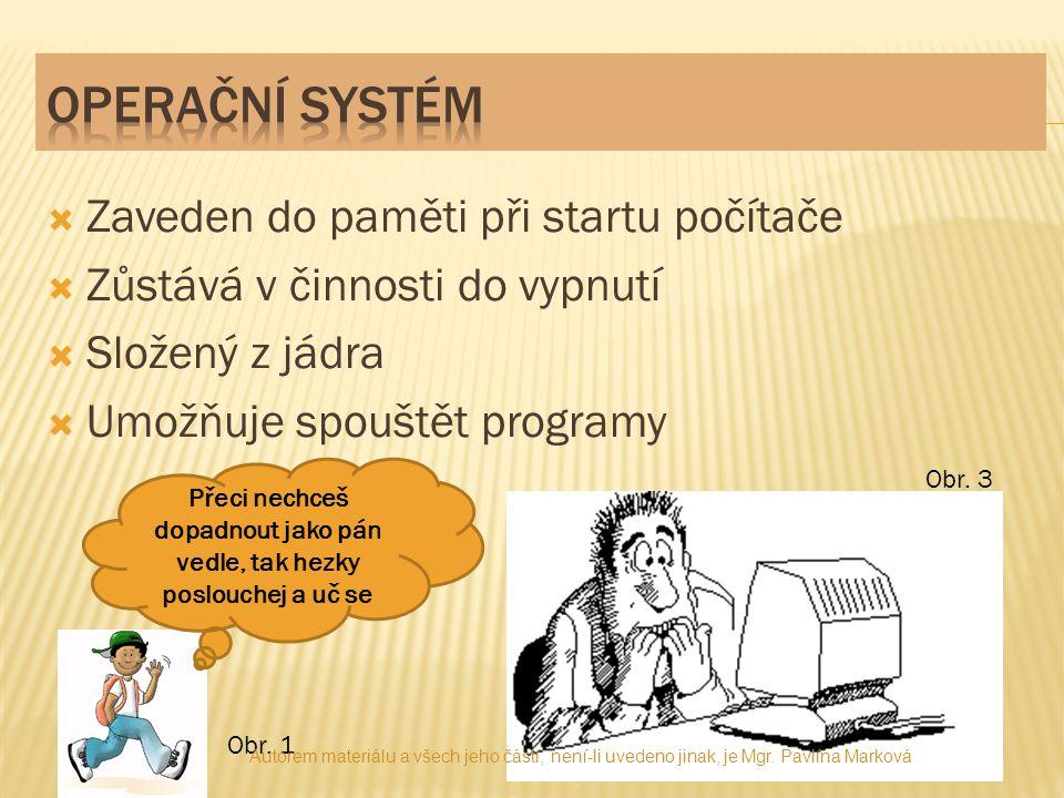 """Operační systémyMicrosoft Windows Nejstarší typ, Chicago95 Podobný 95,98 Millenium Edition, vylepšený 98ME Pomocné technologie2000 Pro osobní PC, """"experience """"(zkušenost) XP podobný xp, pro server2003 """"výhled , nekompatibilníVista Použití pro server2008 Z roku 20097 Autorem materiálu a všech jeho částí, není-li uvedeno jinak, je Mgr."""