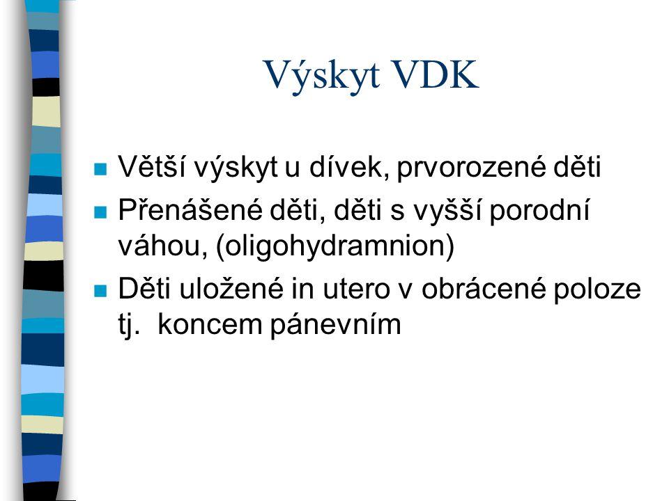 Komplikace léčení VDK - IN n Ischemická nekrosa vzniká při poruše cév.