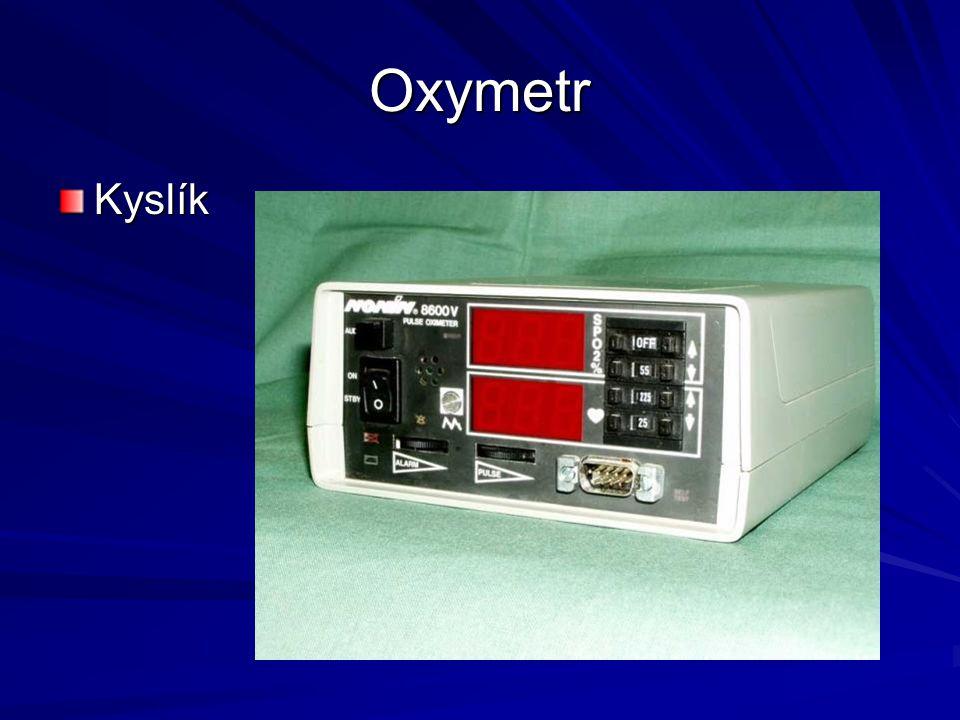 Oxymetr Kyslík