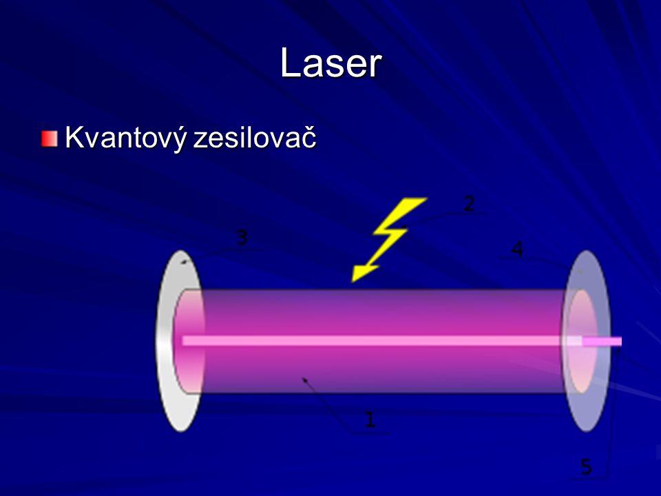 Laser Kvantový zesilovač