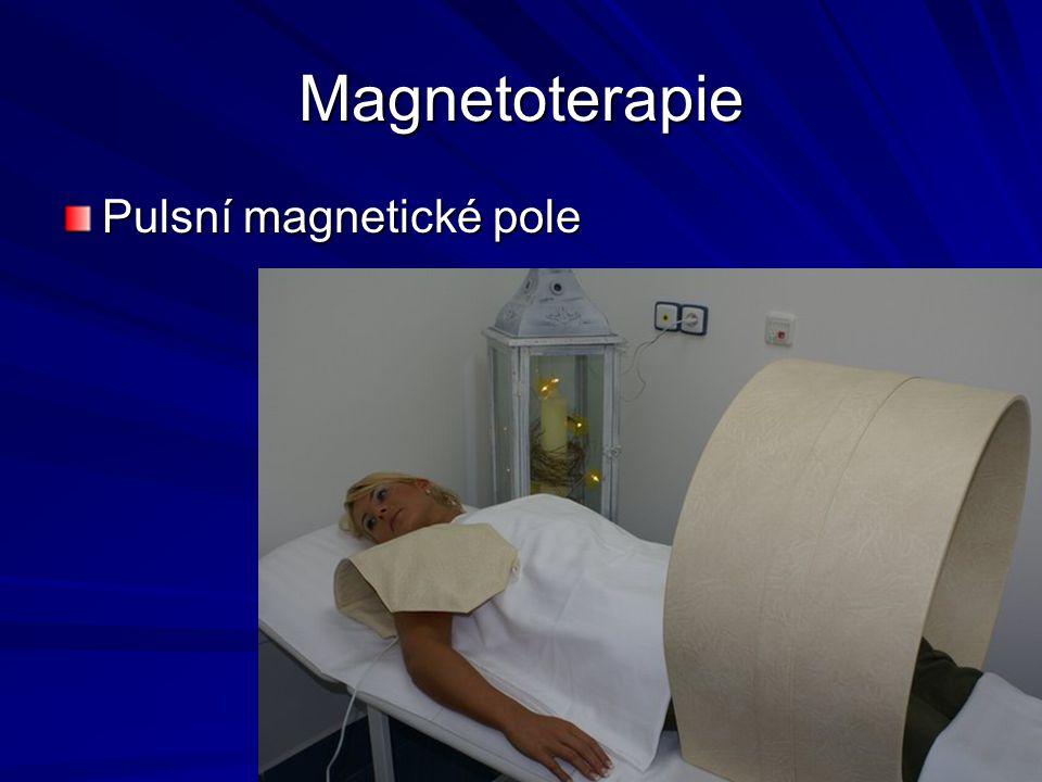Magnetoterapie Pulsní magnetické pole