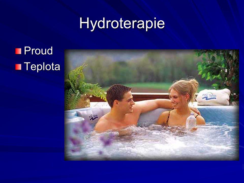 Hydroterapie ProudTeplota