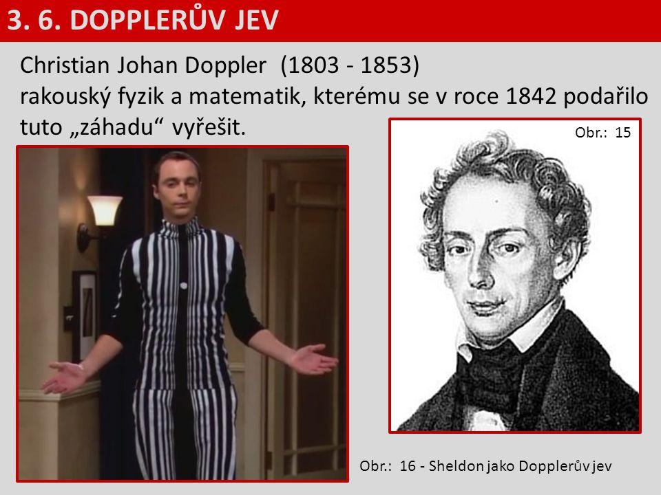 """Christian Johan Doppler (1803 - 1853) rakouský fyzik a matematik, kterému se v roce 1842 podařilo tuto """"záhadu"""" vyřešit. V roce 1835 se Doppler stal p"""