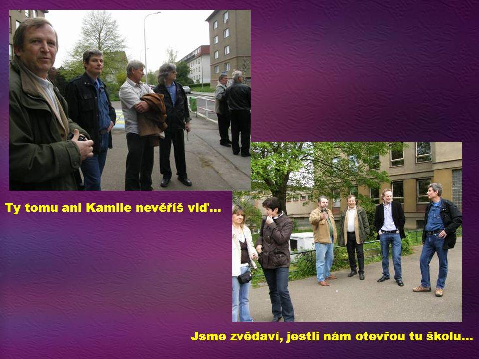 Jarda, Kamil a Ivo… Volná debata…