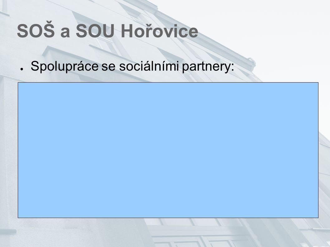 SOŠ a SOU Hořovice ● Spolupráce se sociálními partnery: